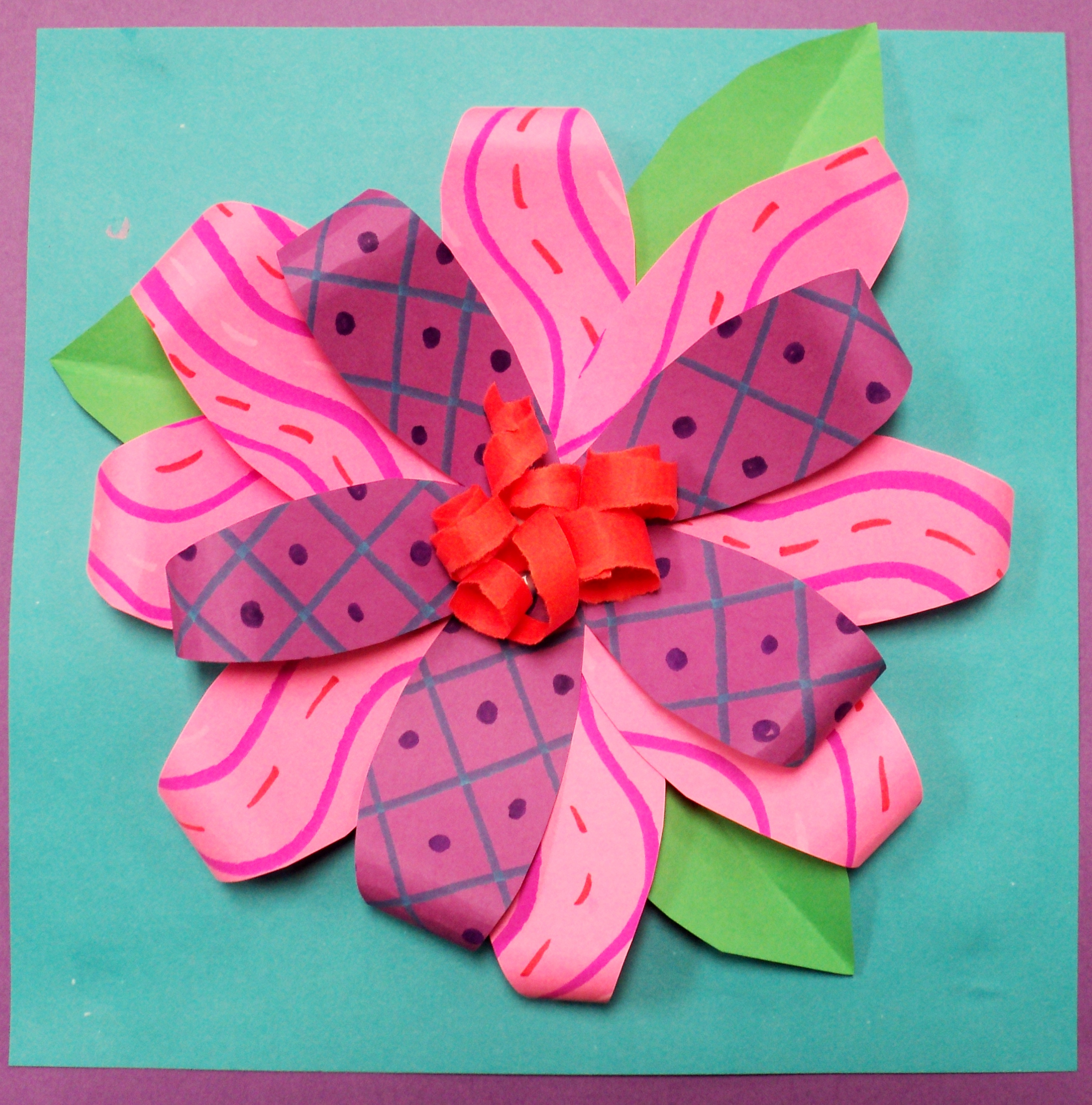2nd grade paper flower relief sculptures art room artifacts paper flower relief sculpture mightylinksfo