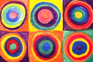Kandinsky Color Shapes
