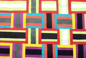 Kente Paper Weaving
