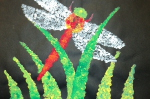 Pointillism Insects