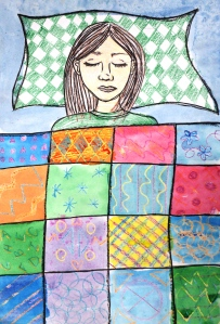 Klimt Quilt Self-Portraits