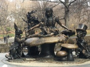 Alice in Central Park (some sites seen vicariously through my awesome husband)